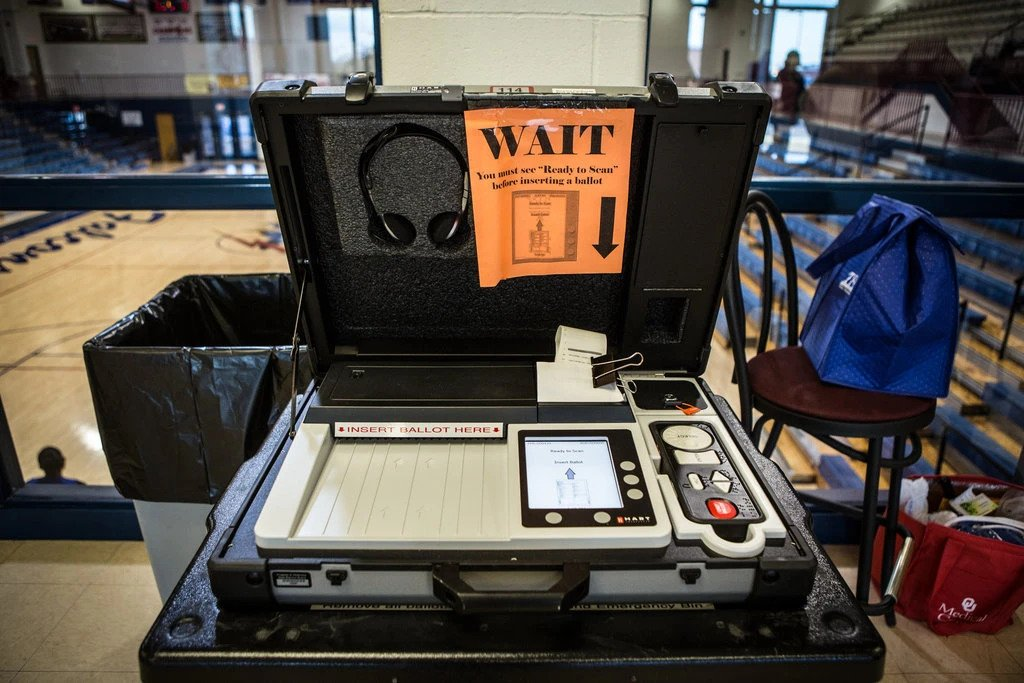 Why are election machines NOT hooked up to the internet?